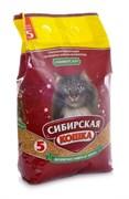 """Сибирская кошка - Впитывающий наполнитель для кошек """"Универсал"""""""