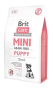 Brit Care - Сухой беззерновой корм для щенков малых пород (с ягненком) Care Mini Puppy Lamb