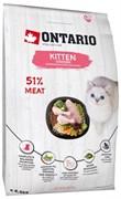 Ontario - Сухой корм для котят (с курицей) Kitten Chicken
