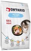 Ontario - Сухой корм для котят (с лососем) Kitten Salmon