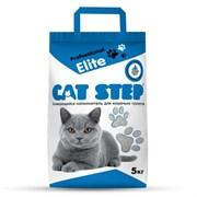 Cat Step - Комкующийся бентонитовый наполнитель для кошек Professional Elite