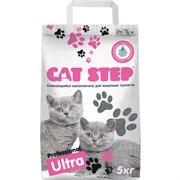 Cat Step - Комкующийся бентонитовый наполнитель для кошек Professional Ultra