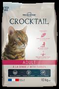 Flatazor - Сухой корм для взрослых кошек (с индейкой) CROCKTAIL ADULT