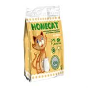"""Homecat - Наполнитель комкующийся для кошек Молоко """"Эколайн"""""""