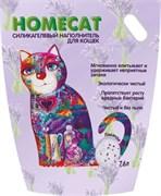 Homecat - Силикагелевый наполнитель для кошачьих туалетов с ароматом лаванды