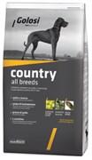 Golosi - Сухой корм для взрослых собак всех пород (с курицей и говядиной) COUNTRY ALL BREEDS