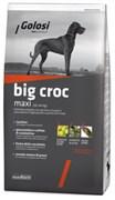 Golosi - Сухой корм для взрослых собак крупных пород (с индейкой и рисом) BIG CROC MAXI