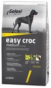 Golosi - Сухой корм для взрослых собак средних пород (с курицей, говядиной и рисом) EASY CROC MEDIUM