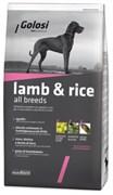 Golosi - Сухой корм для взрослых собак всех пород (с ягненком и рисом) LAMB & RICE ALL BREEDS