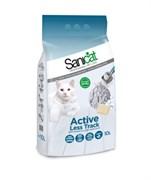 """SaniCat - Комкующийся наполнитель для кошек """"Без следов"""""""