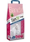 """SaniCat - Впитывающий наполнитель для кошек """"7 дней"""" (с ароматом алоэ вера)"""