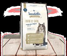 Sanabelle - Сухой корм для взрослых кошек Hair&Skin
