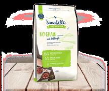 Sanabelle - Сухой беззерновой корм для взрослых кошек No Grain