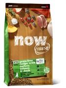 NOW Natural Holistic - Сухой корм беззерновой для котят (с индейкой, уткой и овощами) Fresh Grain Free Kitten Recipe