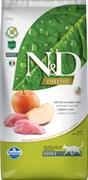 Farmina - Беззерновой корм для взрослых кошек (кабан с яблоком) N&D Line boar&apple adult