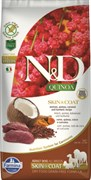 """Farmina - Беззерновой корм """"Здоровье кожи и шерсти"""" для взрослых собак (с киноа и олениной) N&D Quinoa skin & coat venison adult"""