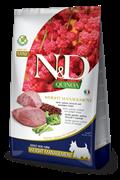 """Farmina - Беззерновой корм """"Поддержание пищеварения"""" для взрослых собак мелких пород (с киноа и ягненком) N&D QUINOA DOG DIGESTION LAMB MINI"""