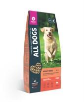 All Dogs - Сухой корм для взрослых собак (с говядиной и овощами)