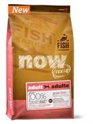 NOW Natural Holistic - Сухой корм беззерновой для взрослых собак для чувствительного пищеварения (с форелью и лососем) Grain Free Fish Adult Recipe