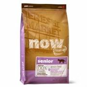 """NOW Natural Holistic - Сухой корм беззерновой для кошек """"Контроль веса"""" (с индейкой, уткой и овощами) Fresh Grain Free Senior Cat Recipe"""