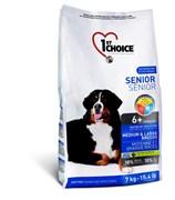 1St Choice - Сухой корм для пожилых собак средних и крупных пород (курица)