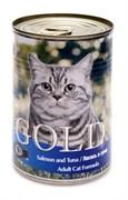Nero Gold Super Premium - Консервы для кошек (лосось и тунец) Cat Adult Salmon & Tuna