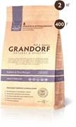 Grandorf - Сухой корм для взрослых стерилизованных кошек (кролик с рисом) Adult Cat Sterilised Rabbit & Rice Recipe