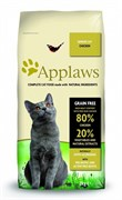 Applaws - Сухой корм беззерновой для пожилых кошек (с курицей и овощами) Dry Cat Senior