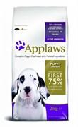 Applaws - Сухой корм беззерновой для щенков крупных пород (с курицей и овощами) Dry Dog Chicken Large Breed Puppy