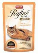 Animonda - Паучи для взрослых кошек (с индейкой в морковном желе) Rafine Soupe Adult