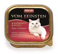 Animonda - Консервы для кастрированных кошек (с индейкой и томатами) Vom Feinsten
