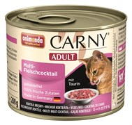 Animonda - Консервы для кошек (коктейль из разных сортов мяса) CARNY Adult