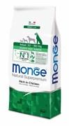 Monge - Сухой корм для щенков крупных пород (курица с рисом) Maxi Puppy & Junior