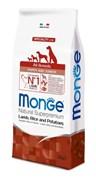 Monge - Сухой корм для щенков всех пород (ягнёнок с рисом) Dog Speciality Puppy & Junior Lamb and Rice