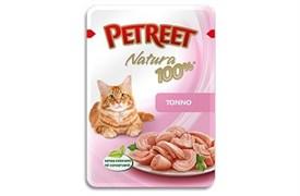Petreet - Паучи для кошек (тунец) Natura 100%