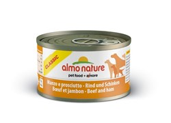 Almo Nature - Консервы для собак (с говядиной и ветчиной) Classic Beef & Ham