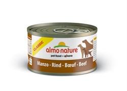 Almo Nature - Консервы для собак (с говядиной) Classic Beef