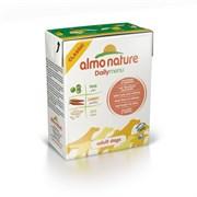 Almo Nature - Консервы для собак (с тунцом и лососем) Daily Menu Tuna & Salmon Tetrapack