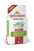 Almo Nature - Сухой корм для взрослых собак крупных пород (с ягненком) Large & Lamb Holistic
