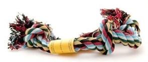 """Benelux - Игрушка для собак """"Веревка цветная 3 узла"""" 45 см"""