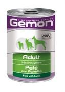 Gemon Dog - Консервы для собак (паштет из ягненка)