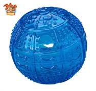 """Kitty City - Игрушка для собак """"Мяч для развлечения и угощения"""" Toby's Choice Treat Ball, 8,2 см"""