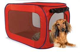 Kitty City - Переносной домик для собак малых пород Portable Dog Kennel Small, 66*37*37 см