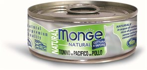 Monge - Консервы для кошек (тихоокеанский тунец с курицей) Cat Natural