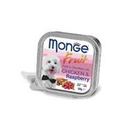 Monge - Консервы для собак (курица с малиной) Dog Fruit
