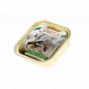 Mr. Stuzzy - Консервы для кошек (с телятиной и морковью)