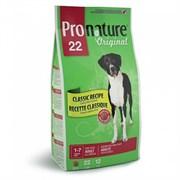 Pronature Original - Пронатюр 22 сухой корм для собак (ягненок и рис) крупные гранулы