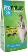 """Pronature Original - Пронатюр 28 сухой корм для кошек  """"Океан Удовольствия"""" (цыпленок и морепродукты)"""