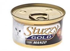 Stuzzy - Консервы для кошек (мусс из говядины) GOLD