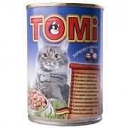 Tomi - Консервы для кошек (лосось и форель)